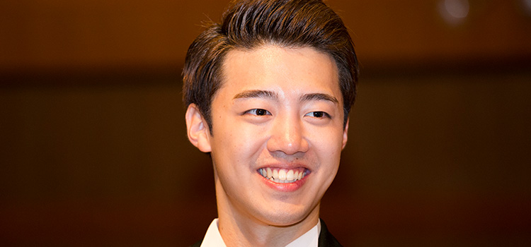 Gil Byeong-Min, winner of the Monte Carlo Voice Masters 2017
